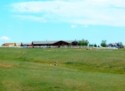 Someone's Wyoming home on the range.