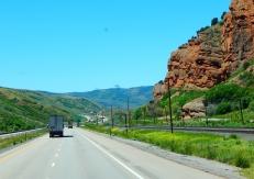 Dropping down toward SLC from Park City, Utah.