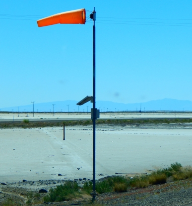 Yep! The salt flats were windy. What's new?!