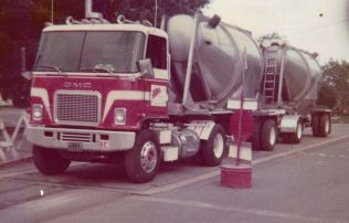 """Another truck I drove during the sugar and chemical hauling days. This old """"Jimmy"""" was a good looking truck and the interior was awesome."""