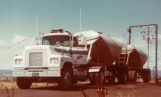 A Mack conventional that I dearly loved to drive. It had the Maxidyne and a very slick 5 speed transmission. With its airbag under the back of the cab, it was one of the nicest riding trucks I ever drove.