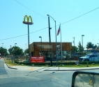 Life is full of disappointments; this closed Mickey D's was one of mine.