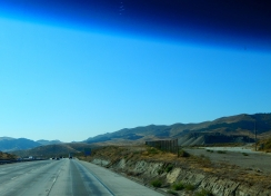 The Tehachapis en route to LALA Land.
