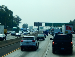 LALA Land's horrible traffic that never seems to improve.