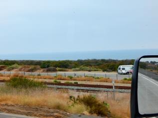 An ocean view as I neared Oceanside.