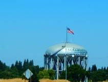 A Sacramento landmark along I-5 as we entered Sacramento