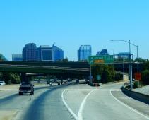 A portion of the Sacramento skyline.