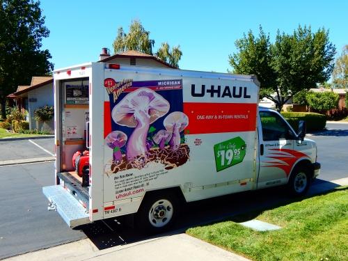 2017-10-6d U-Haul truck rental
