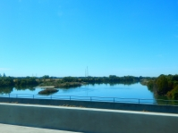 Crossing the Feather River.