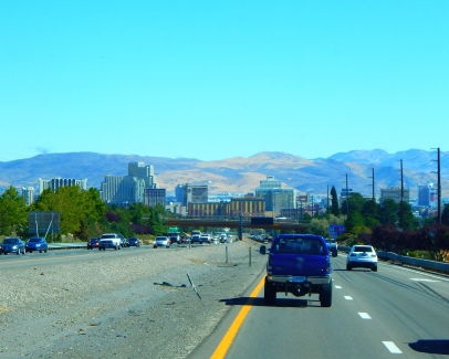 Reno; we didn't stop and we didn't lose any money!