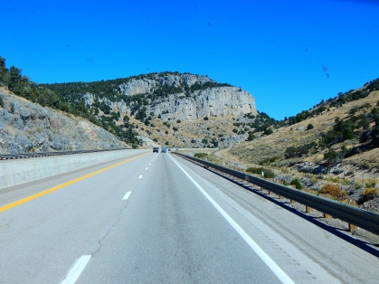 Driving I-80 across Nevada is a real pleasure...