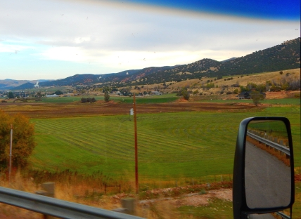The beautiful Coalville, Utah area.