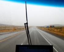 Of course we had rain...