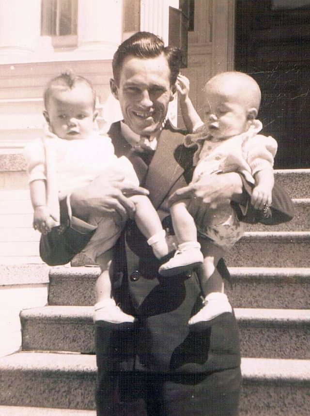 c1944 Gale, Uncle Keith, Dale