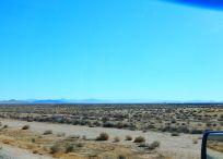 The scenic Mojave Desert.