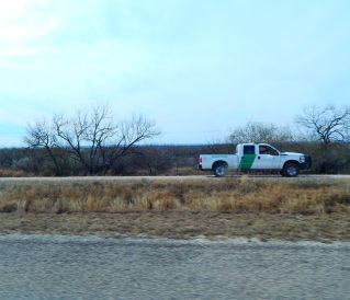Border Patrol on the prowl for illegals coming through the brush.
