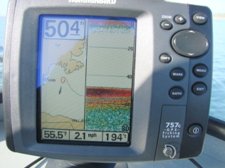 The FF/GPS/Plotter I installed.