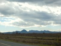 The picturesque Sutter Buttes near Gridley.