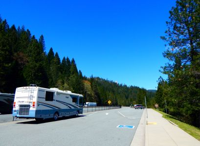 We found this Dale's Diner at a rest area along I-5. Honestly, those eateries seem to be everywhere we go!