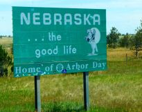 I was welcomed to Nebraska - even though they didn't mention it.