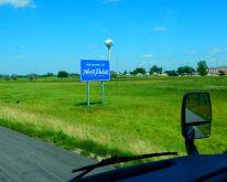 I was welcomed into North Dakota...