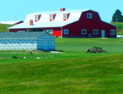Another pretty, red barn.