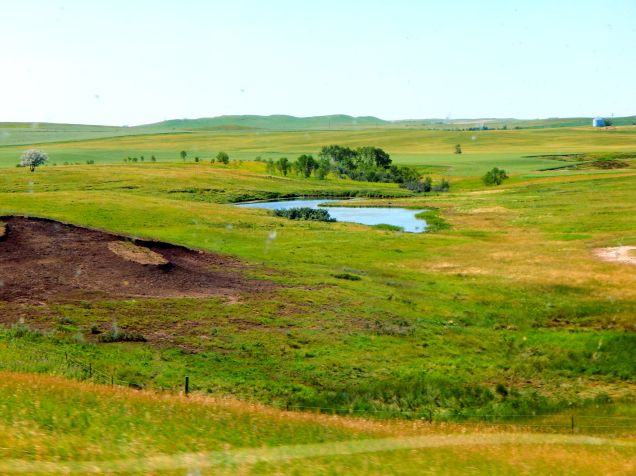 Like its neighbor, Minnesota, North Dakota has more than its share of lakes and ponds. Check out a map and you'll find some areas look pock-marked with water holes.