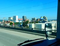 Spokane's skyline.