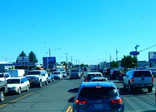 Redmond, Oregon needs a bypass freeway very badly; it was awful traffic through town with all the traffic lights.
