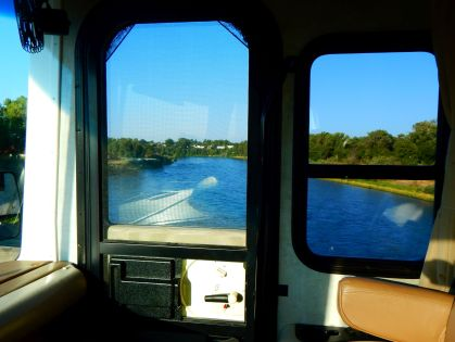 Crossing the Sacramento River at Red Bluff.