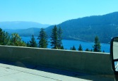 Beautiful Donner Lake near the summit.