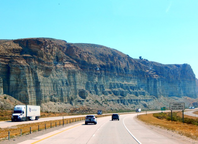 ...and Wyoming has stunning cliffs, too.