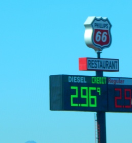 I can't win! I was so happy to fuel up for $3.14 in Cheyenne, then found it 20¢ cheaper just down the road. This seems to always happen.