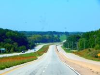 US 36 wanders through beautiful Missouri and seems a lot like an interstate much of the time.
