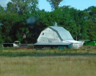 Just a barn with character.