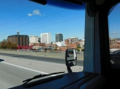 Spokane, Washington and I was re-introduced to the world of too many people and cars.