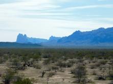 Interesting desert formations,