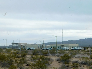 One of two large Border Patrol stations I drove by on NM9. The border patrol was everywhere along that highway.