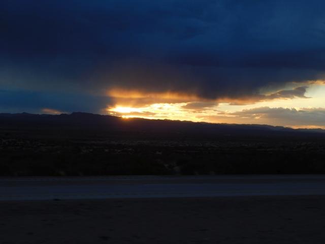 2019-2-1h sunset along I-10