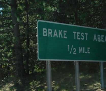 Check your brakes!