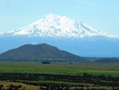 Mt. Shasta dominates the entire region...