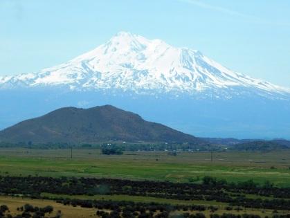 Mt. Shasta dominates the entire region...