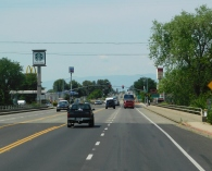 Entering Red Bluff which was my home back in the 70s.