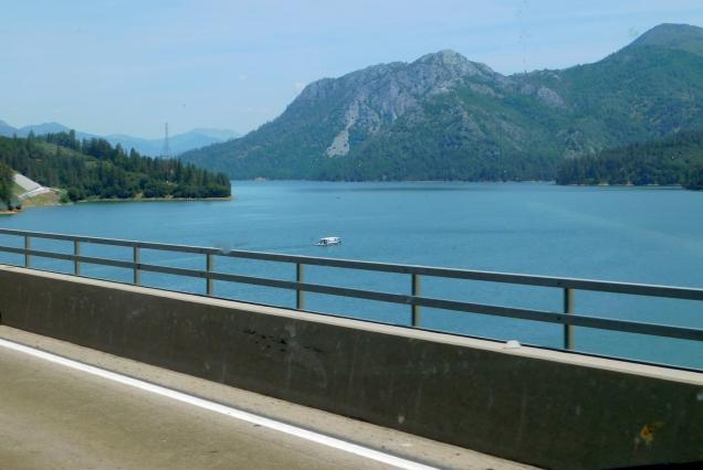 Beautifully full Shasta Lake!