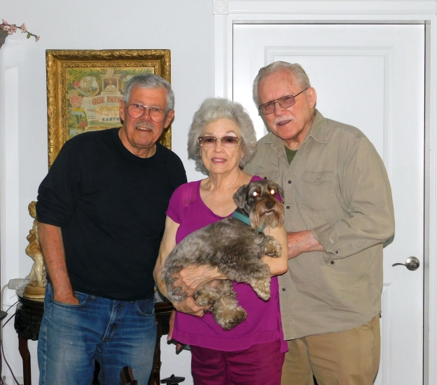 2019-5-9a Dale, Betty, Al, TommyDog