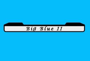 The mudflap design for Big Blue II.