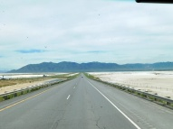 The seemingly endless salt flats.