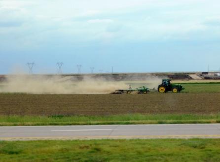Kansas farming.