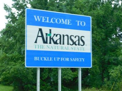 Wwelcome to Arkansas.