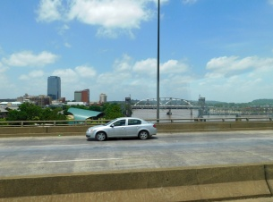 The Arkansas River in Little Rock.